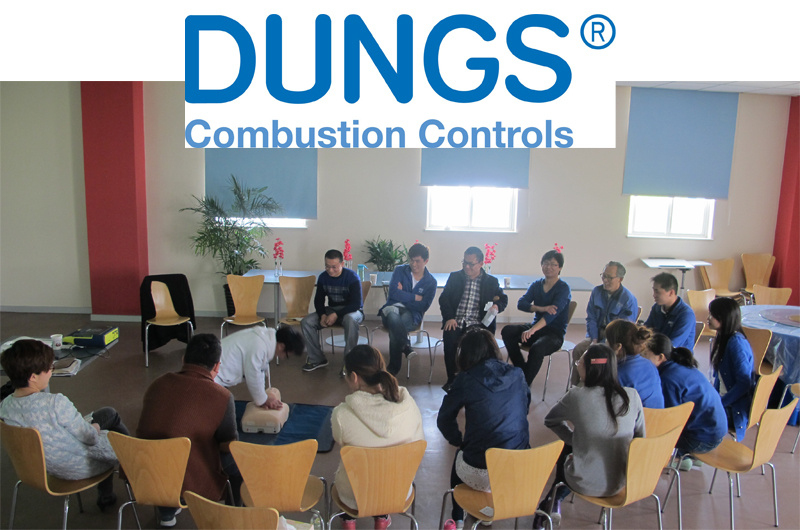 dungs firstaid training