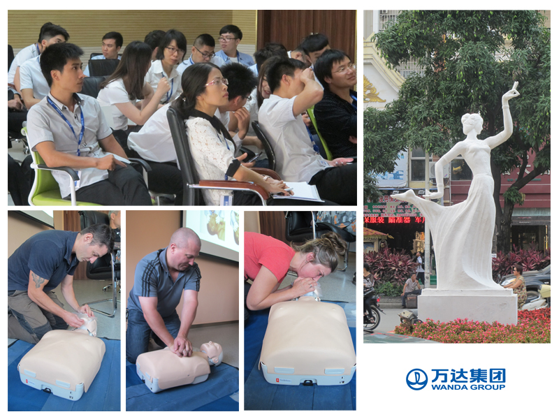 wanda first aid training